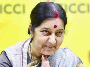 Sushma praised Hindu Swayamsevak Sangh, saying that it was making new generation familiar with rich Indian culture in foreign lands.