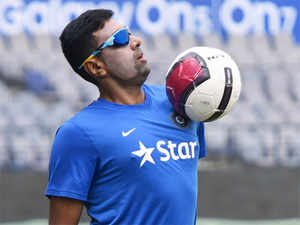 Ashwin, who took 62 wickets in nine Tests this year, became the first India bowler since Bishen Bedi in 1973 to achieve the milestone.