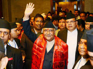 Nepal's PM Oli called up PM Narendra Modi and briefed him on the political developments in his country.
