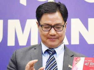 Taking a dig at the AAP government, Union minister Kiren Rijiju today said like humans who can't live without oxygen, the city government can't live without controversy.