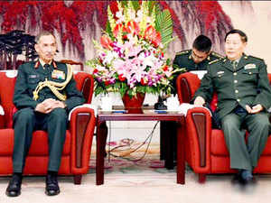 "China and India dealt with differences over the border ""properly"" with frequent interactions bringing peace and stability, the Chinese military said today."