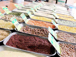 Government has offloaded over 1.12 lakh tonnes of pulses, seized from hoarders, in the retail market to improve availability and tame prices.