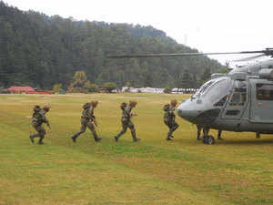 The exercise would be conducted in two phases, namely combat conducting and tactical training and validation exercise, the spokesperson said.(Representative image)