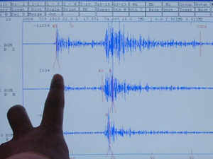 The India Meteorological Department said the quake measured 5.8 on the Richter scale, while the United States Geological Survey (USGS) put the intensity of the earthquake at 5.3.