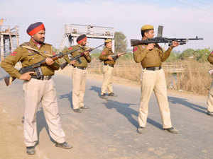 In the wake of terror attack at the Air Force base in Pathankot, security measures were stepped up at the Air Force Station and the civil airport in Jodhpur.