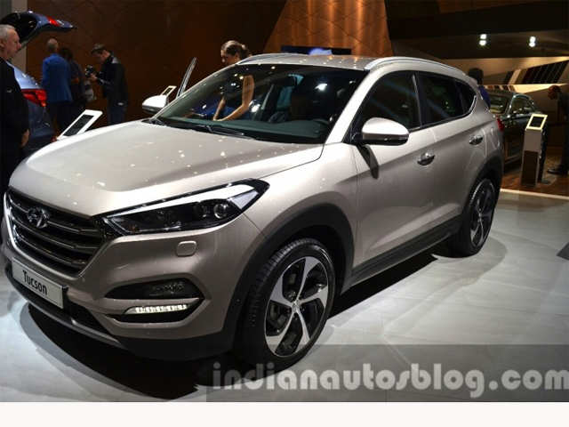 india bound 2016 hyundai tucson could be showcased at auto expo 2016 india bound 2016 hyundai. Black Bedroom Furniture Sets. Home Design Ideas
