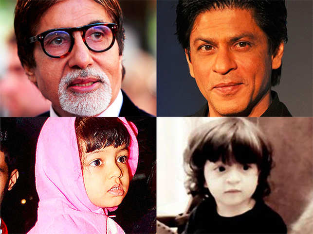 The 73-old actor wishes that his grand-daughter Aaradhya and good friend Shah Rukh Khan's son AbRam act together when they grow up.