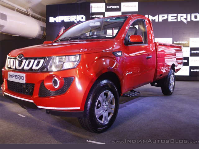 5-speed manual transmission - Mahindra Imperio (Genio