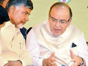 India hopes the rapidly-growing Andhra Pradesh will help achieve the national double-digit growth target, finance minister Arun Jaitley has said.