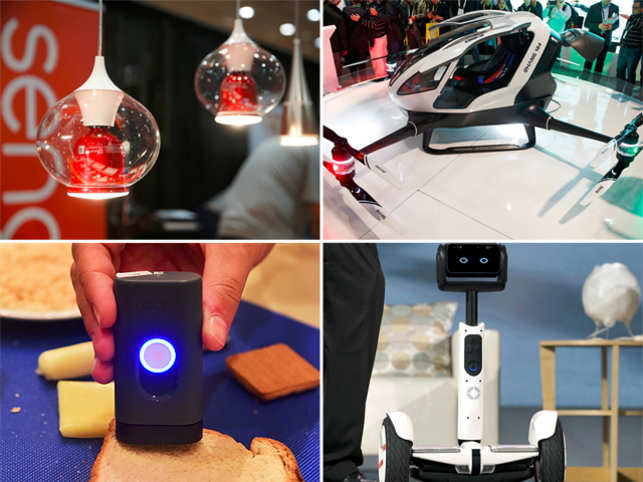 A roundup of mind-bending devices at the recently concluded electronics trade show held in Las Vegas.