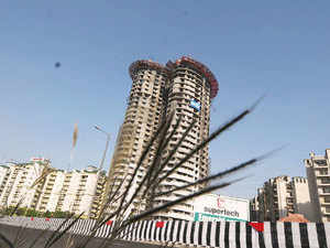 Noida-based builder Supertech has paid Rs 415 crore to PE fund Xander for partial exit from the company, said a person close to the development.