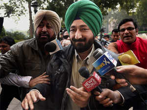 Gurdaspur SP Salwinder Singh, who was allegedly abducted by terrorists involved in the Pathankot attack.