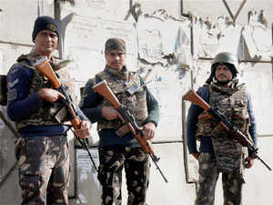 Security at Air Force base in Pathankot