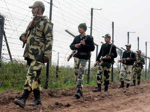 """The BSF cannot acquire land since land is a state subject. """"We have written to the BSF headquarters and it has been referred to the home ministry,"""" said a senior BSF official."""