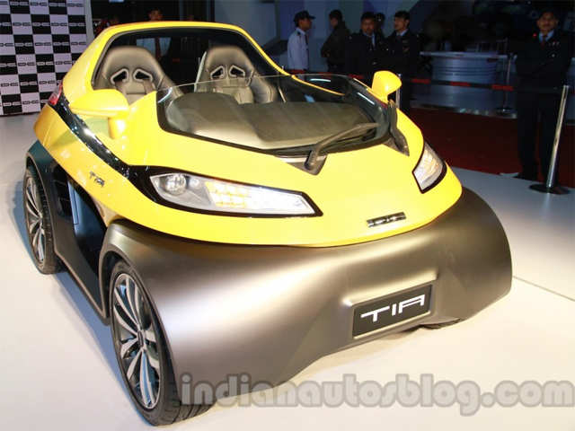 Dc Tia Microcar To Launch In 12 Months To Pack An Electric