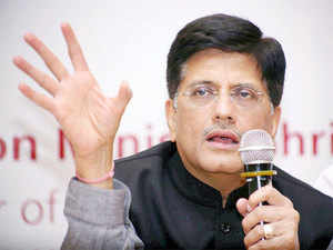 Goyal met manufacturers of solar wafers and cells to persuade them to set up manufacturing plants in India.
