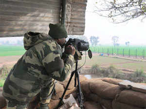 The suspected infiltration point of Ujj River in Bamiyal used by terrorists in the case of the Pathankot attack was not covered by a laser wall.