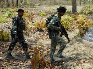Four naxals were killed in a gun battle with the security forces today in Chhattisgarh's insurgency-hit Bijapur district, police said.