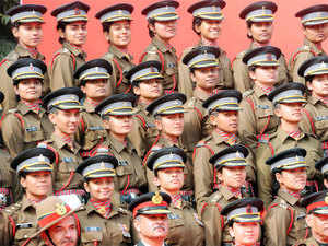 In pic: (Unrelated)n Women soldiers during the Army Day parade at Delhi Cantt in New Delhi, on January 14, 2016.