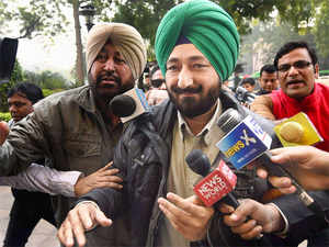Singh's car was hijacked by terrorists before they entered the Pathankot IAF base on the intervening night of December 31 and January one.