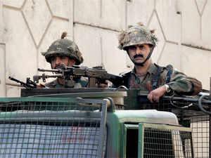 Security at Pathankot Air Force base.