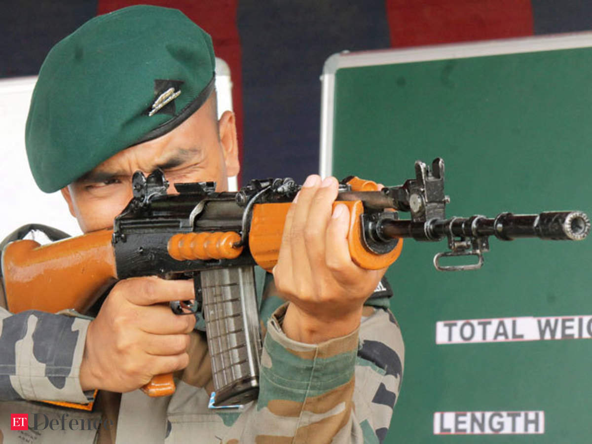 Soldiers modify INSAS rifles as they await replacements