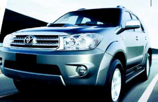 Toyota Fortuner looks and feels better