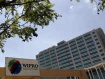 A stronger growth outlook for the March quarter dollar denominated revenue and the management's commentary on a stable demand scenario helped Wipro's stock report gain at the end of Monday's trading session.