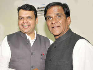 Former Union minister Raosaheb Patil Danve was today re-elected as the BJP chief of Maharashtra.  	   	Danve's appointment was announced at a meeting of senior BJP functionaries where Maharashtra Chief Minister Devendra Fadnavis and party's central observers were present.