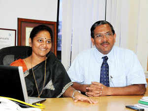 """""""This new concept of expansion plans under CIEL Stars is a significant move towards helping companies spot the right talent instantly,"""" K Pandiarajan(right), founder, Ma Foi Group, and Chairman - CIEL HR Services, said."""