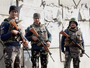 Security at Pathankot air base.