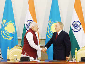 Having inked an agreement with India to enhance military cooperation, Kazakhstan is now looking at joint ventures in the defence sector.