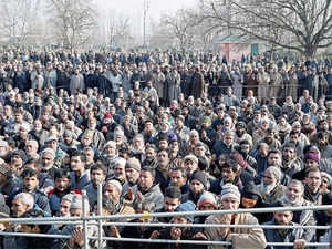 The low attendance at Mufti Sayeed's funeral has come as a shock to Mehbooba and forced her to revisit alliance, says a BJP MLA.