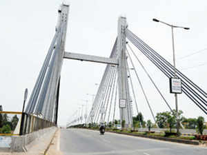 The KR Puram suspension bridge was adjudged the most outstanding national bridge in 2009 by the Indian Institution of Bridge Engineers. For the city it is a planning disaster.