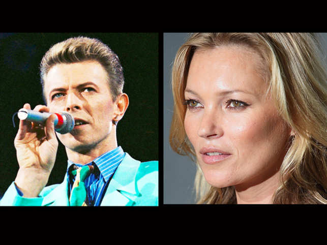 For her 42nd birthday, British supermodel Kate Moss threw a David Bowie-themed party in the honour of her friend.