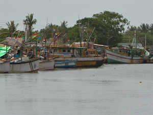 (In pic) Bandar port in Machilipatnam, Krishna district.