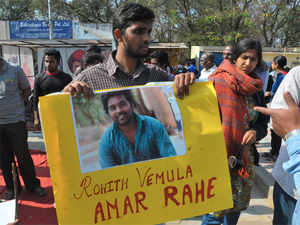 The HRD Ministry rejected allegations that it had put any pressure on the University of Hyderabad in the matter relating to the suspension of a dalit student.