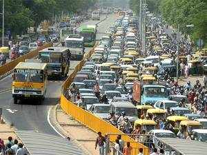 The govt has also prepared for implementing  steps to keep dedicated lane partly reserved for buses on major wide roads, according to senior AAP ministers.