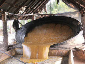 India's sugar production rose 7 per cent to 110.90 lakh tonnes till January 15 in the current marketing year while mills have so far this season received contracts for exporting 9 lakh tonnes of sweetener.