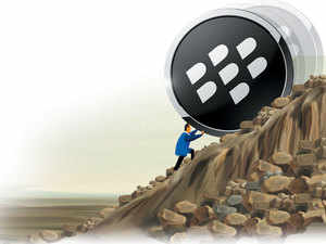 When Nayak took over in October, BlackBerry had less than 30 employees in India, down from over 70 a couple of years ago.