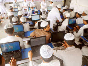 Shiv Sena today said madrassas in India should be barred from using Urdu and Arabic as medium of instruction and they should be replaced with English and Hindi. (Representative image)