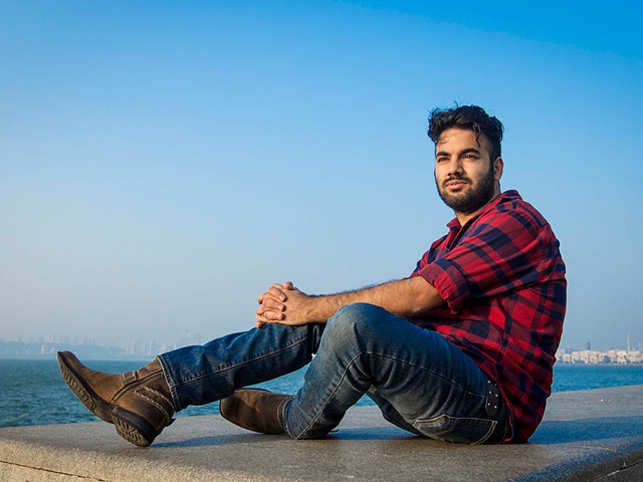 Also the founder of a metal band, the Georgia Tech University student is a big fan of Gibson guitars! (Pic: Nishikant Gamre)