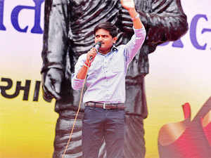 Hardik addressing the Patel community, admitted that he is in talks with BJP-led state government to arrive at a compromise formula.