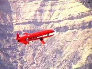 In pic: Pakistan's state of the art Ra'ad Cruise Missile which according to their government webiste can deliver nuclear and conventional warheads.