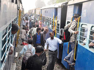 Syed Ahmed Ali (38) jumped from Raptisagar Super Fast Express at around midnight yesterday and fled, Hoshangabad's Superintendent of Police said. (representative image)