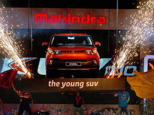 Mahindra & Mahindra Ltd. (M&M), India's leading SUV manufacturer, today launched compact SUV - KUV100 in Bhopal.