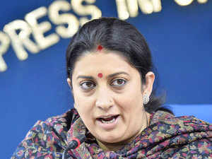 "Aam Aadmi Party today accused Union HRD Minister Smriti Irani of ""misleading"" the nation over the alleged suicide of a Dalit research scholar."