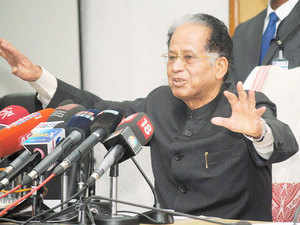 """Assam Chief Minister Tarun Gogoi today ruled out any pre-poll alliance with any party for the coming assembly elections in the state but said the Congress was open to """"electoral understanding"""" in some seats."""