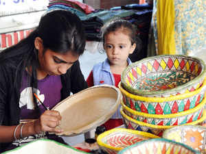 More than 1,200 ideas for small enterprises will be taken up under this initiative pertaining to handicrafts and handloom, among others.