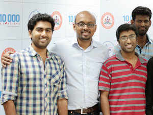 In pic: Founders of the startup UncannyVision.
